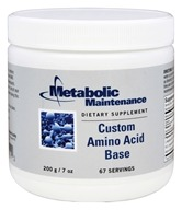 Metabolic Maintenance - Custom Amino Acid Base - 200 Grams
