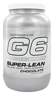 G6 Sports - Super-Lean Deluxe Meal Replacement Chocolate - 2.5 lbs.