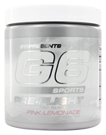 G6 Sports - Pre-Flight Pink Lemonade - 198 Grams
