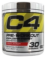 Cellucor - C4 Pre-Workout Explosive Energy Fruit Punch 30 Servings - 195 Grams