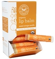 The Honest Company - Organic Lip Balm Sweet Orange Vanilla - 0.15 oz.