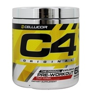 C4 Pre-Workout Explosive Energy Fruit Punch 60 Servings - 390 Grams