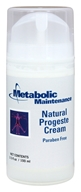 Metabolic Maintenance - Natural Progeste Cream - 3.5 oz.