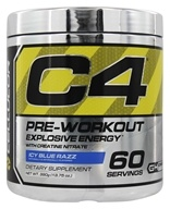 Cellucor - C4 Pre-Workout Explosive Energy Icy Blue Razz 60 Servings - 390 Grams
