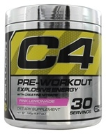 Cellucor - C4 Pre-Workout Explosive Energy Pink Lemonade 30 Servings - 195 Grams