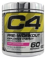 Cellucor - C4 Pre-Workout Explosive Energy Pink Lemonade 60 Servings - 390 Grams