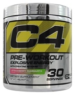 Cellucor - C4 Pre-Workout Explosive Energy Strawberry Margarita 30 Servings - 195 Grams