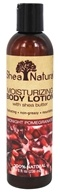 Shea Natural - Moisturizing Body Lotion with Shea Butter Midnight Pomegranate - 8 oz.