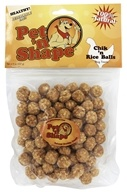 Pet 'N Shape - 100% Natural Chik 'N Rice Balls Dog Treats - 8 oz.