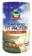 Nature's Food - Plant-Based Fit Protein Vanilla Bean - 1.76 lbs.