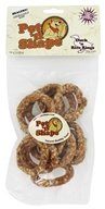 Pet 'N Shape - 100% Natural Duck 'N Rice Rings Dog Treats - 3 oz.
