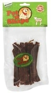 Pet 'N Shape - 100% Natural Lamb Strips Dog Treats - 3 oz.