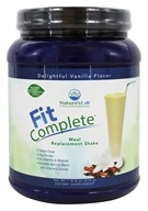 Nature's Lab - Fit Complete Meal Replacement Shake Delightful Vanilla - 22 oz.