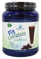 Nature's Lab - Fit Complete Meal Replacement Shake Luxurious Chocolate - 25.2 oz.