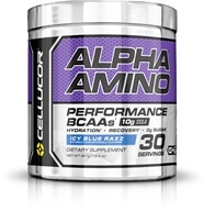 Cellucor - Alpha Amino Performance Aminos Icy Blue Razz 30 Servings - 384 Grams