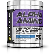 Cellucor - Alpha Amino Performance Aminos Icy Blue Razz 50 Servings - 640 Grams