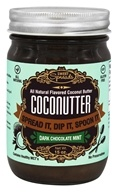 Sweet Spreads - CocoNutter All Natural Flavored Coconut Butter Dark Chocolate Mint - 15 oz.