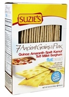 Suzie's - 7 Ancient Grains & Flax Flatbread - 4.5 oz.