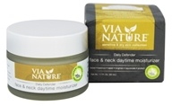 Via Nature - Daily Defender Face & Neck Daytime Moisturizer - 1.7 oz.