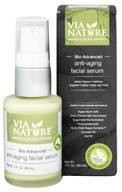 Via Nature - Bio Advanced Anti-Aging Facial Serum - 1 oz.