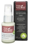 Via Nature - Wrinkle Rescue Complex Eye Anti-Wrinkle Cream - 1 oz.