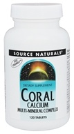 Source Naturals - Coral Calcium Multi-Mineral Complex - 120 Tablets
