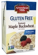 Arrowhead Mills - Gluten-Free Instant Maple Buckwheat Hot Cereal - 8 x 1 oz (28 g) Packets