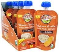 Earth's Best - Organic Wholesome Breakfast Stage 2 Quinoa, Barley & Oat Sweet Potato Cinnamon - 4 oz.