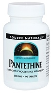 Source Naturals - Pantethine 300 mg. - 90 Tablets
