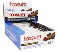 Toosum Healthy Foods - Gluten Free Healthy Snack Bar with Acai and Cranberries - 1.07 oz.