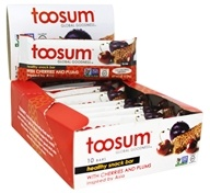 Toosum Healthy Foods - Gluten Free Healthy Snack Bar with Cherries and Plums - 1.07 oz.