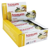 Toosum Healthy Foods - Gluten-Free Oatmeal Bar Coconut & Banana - 1.07 oz. Formerly Gluten Free Healthy Snack Bar Coconut Chamomile