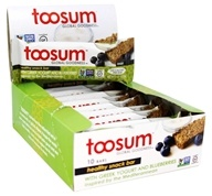 Toosum Healthy Foods - Gluten Free Healthy Snack Bar with Greek Yogurt and Blueberries - 1.07 oz.