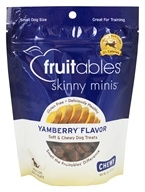 Fruitables Pet Food - Skinny Minis Soft and Chewy Dog Treats Yamberry Flavor - 5 oz.