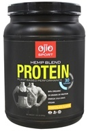 Ojio Sport - Hemp Blend Protein Plant Based Performance Chocolate 30 Servings - 1.85 lbs.