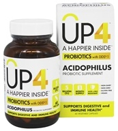 UP4 - Acidophilus Probiotic Supplement with DDS-1 - 60 Vegetarian Capsules