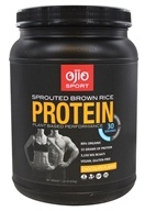 Ojio Sport - Sprouted Brown Rice Protein Plant Based Performance Chocolate 30 Servings - 1.39 lbs.