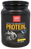 Ojio Sport - Sprouted Brown Rice Protein Plant Based Performance Vanilla 30 Servings - 1.39 lbs.