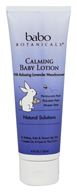 Babo Botanicals - Natural Solutions Calming Baby Lotion with Relaxing Lavender Meadowsweet - 4 oz.