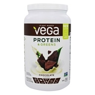Vega - Protein & Greens Drink Mix Chocolate Flavor - 28.7 oz.