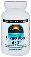 Source Naturals - St. John's Wort Extract 450 mg. - 180 Tablets