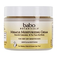 Babo Botanicals - Miracle Moisturizing Cream Oatmilk Calendula - 2 oz.
