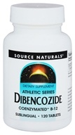 Source Naturals - Dibencozide Coenzymated B-12 Sublingual - 120 Tablets