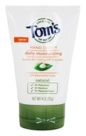 Tom's of Maine - Daily Moisturizing Hand Cream with Shea Butter & Aloe - 4 oz.