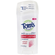 Tom's of Maine - Long Lasting Deodorant Natural Powder - 2.25 oz.