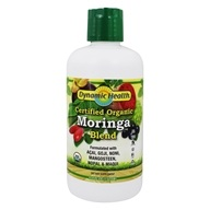 Dynamic Health - Organic Moringa Juice Blend - 33.8 oz.
