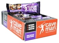 Caveman Foods - Paleo Inspired Nutrition Bar Dark Chocolate Cashew Almond - 1.4 oz.