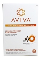 Aviva Hair - Advanced Hair Nutrition 30 Day Supply - 64 Softgels