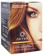Aviva Hair - Advanced Hair Nutrition 60 Day Supply - 128 Softgels