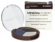 Mineral Fusion - Eye Shadow Trio Stormy - 0.1 oz.
